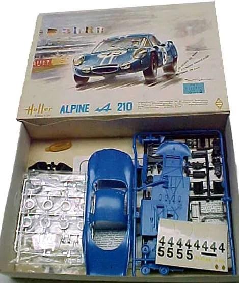 Renault Alpine a210 kit Heller