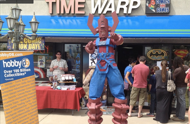 Time Warp Free Comic Book Day Galactus