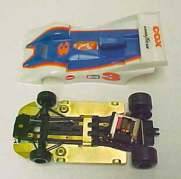 Cox Can Am Manta slot car