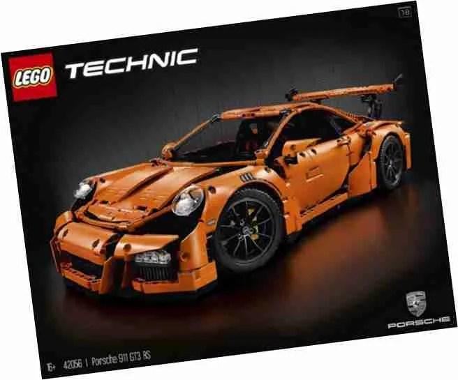 Lego Porsche 911 GT3 RS box