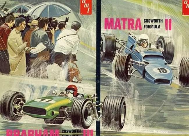 AMT Matra F2 Brabham F3