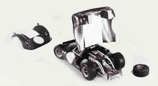 Heller Ferrari P4 330P4