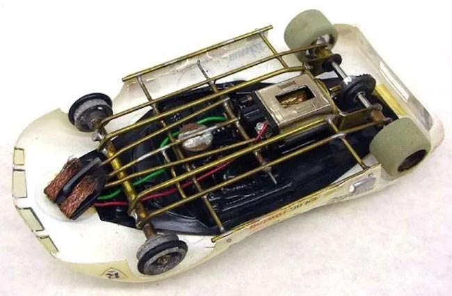 vintage hand made russkit slot car motors