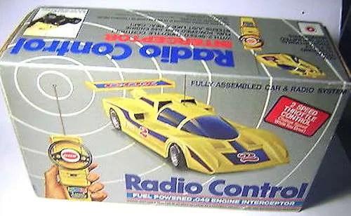 Cox Interceptor radio control r/c
