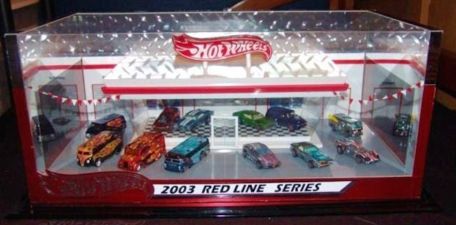 Jimmy Boxman Chavez 2003 Red line club hot wheels