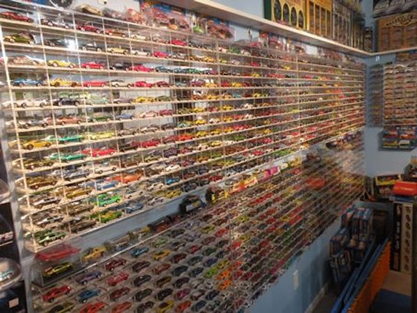 Jay Comparoni Hot Wheels collection