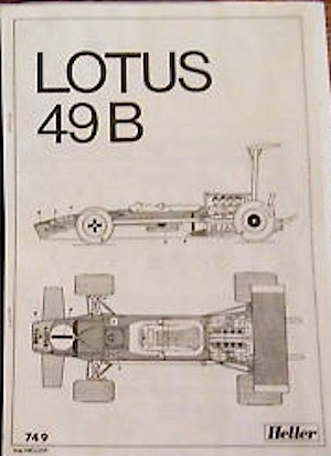 Heller Lotus 49B Cosworth