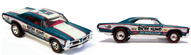 Hot wheels 67 gto