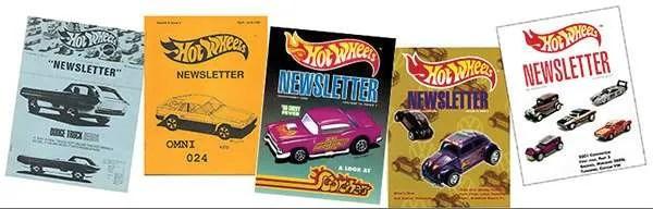Hot Wheels Newsletter