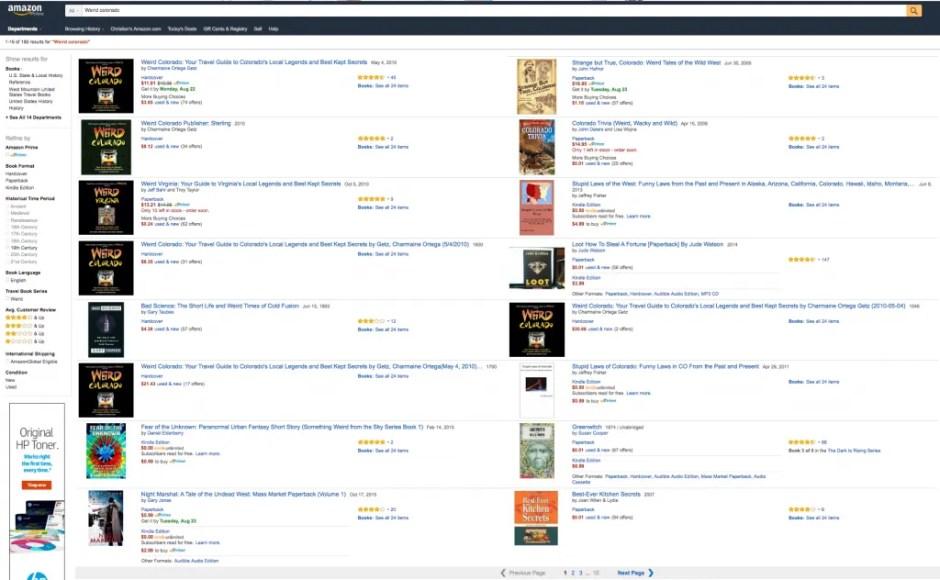 Catalog Problems at Amazon