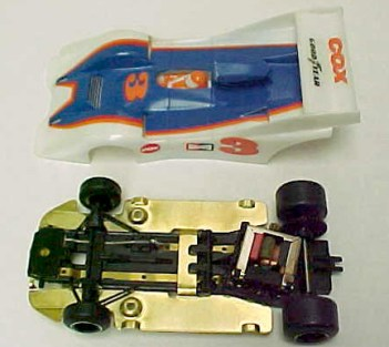 Cox Magnet Traction slot car
