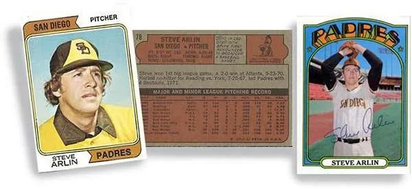 Steve Arlin San Diego Padres