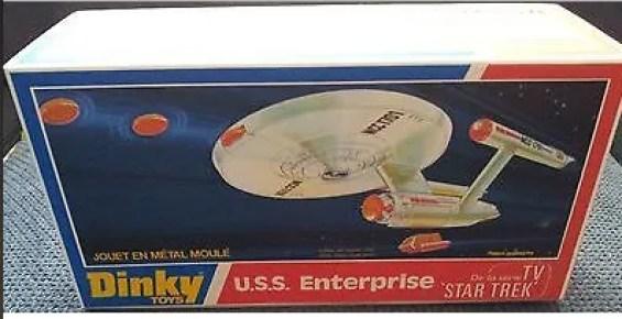 Dinky U.S.S. Enterprise