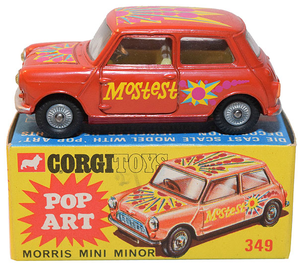 corgi mini pop art