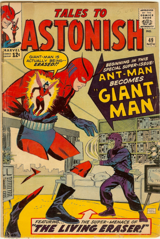 Tales to Astonish #49