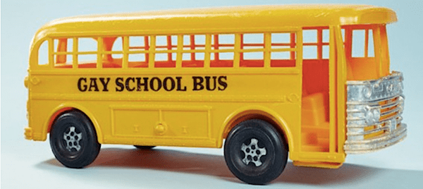 gay toys school bus