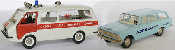 radon model car