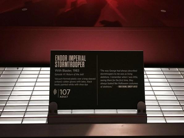Endor imperial stormtrooper card
