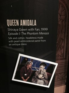 Queen Amidala with fan card