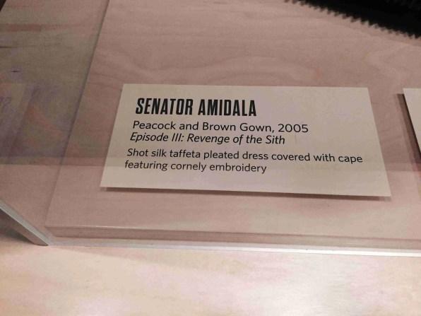 Senator Amidala card