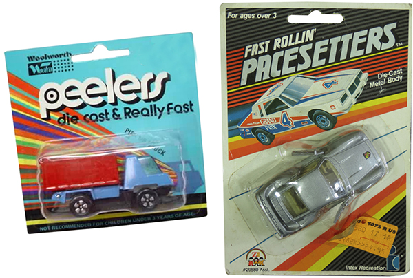 woolworth peelers zee toys pacesetters