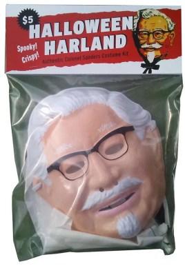 kfc colonel sanders mask