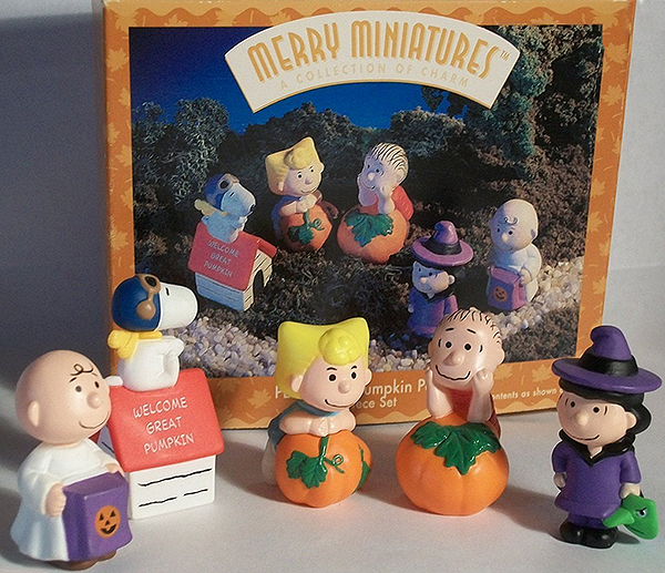 hallmark great pumpkin peanuts