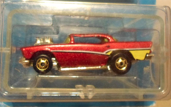 hot wheels error 57 chevy