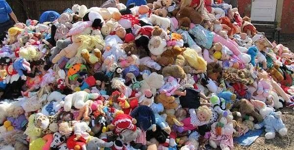 toy hoarding