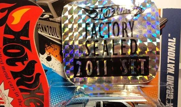 factory sealed hologram