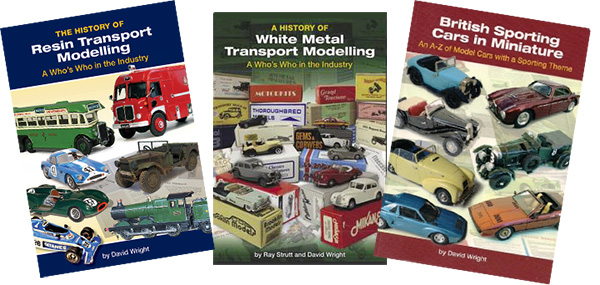 David Wright model car books
