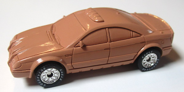 matchbox prototype police car acetate