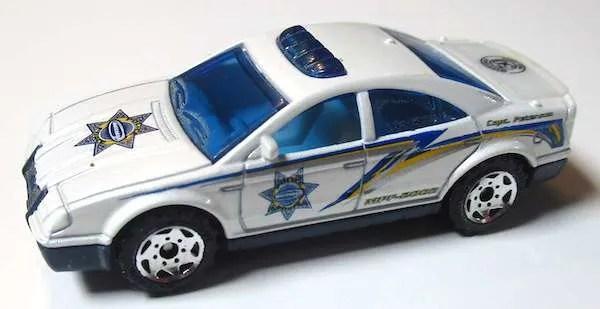 matchbox prototype police car final