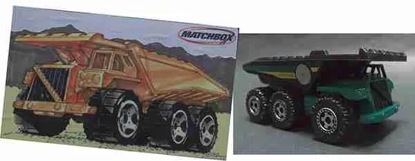 steve moye matchbox dump truck