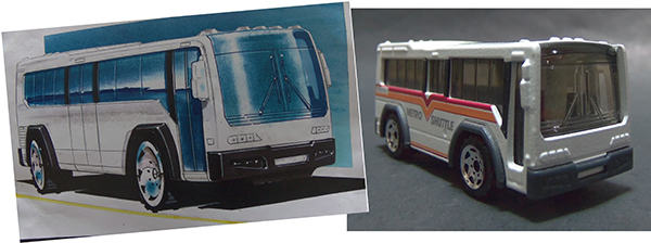 Matchbox City Bus