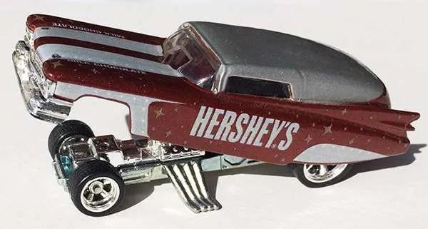 hot wheels 59 cadillac funny car