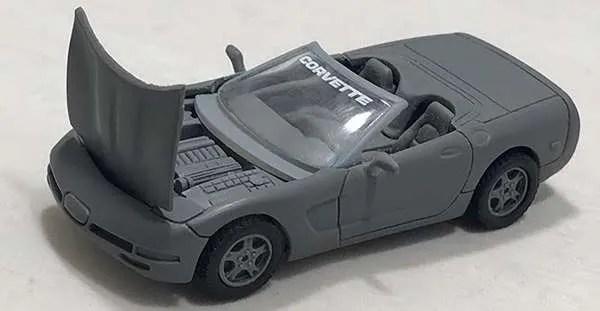 matchbox prototype corvette