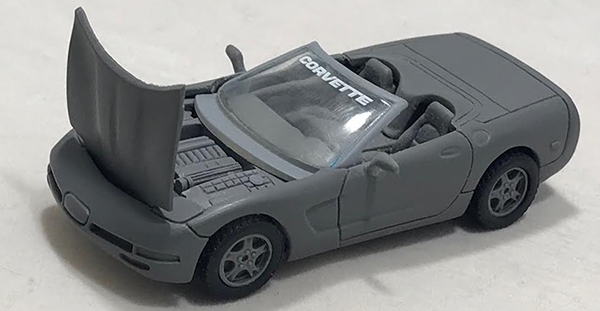matchbox prototype corvette