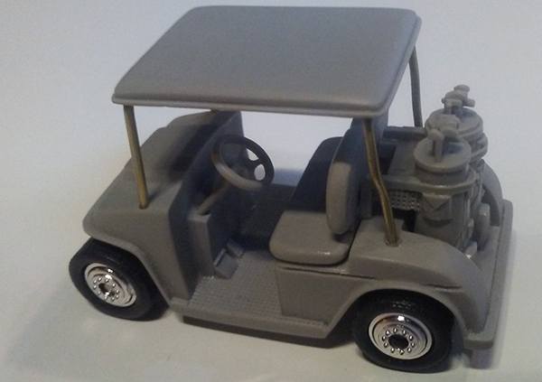 matchbox prototype golf cart