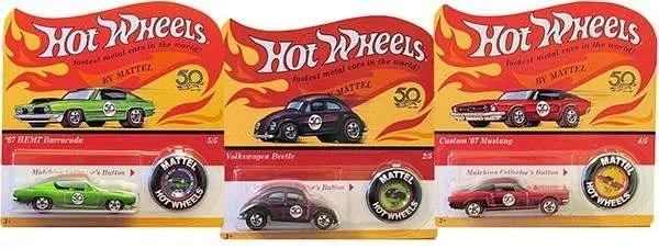 hot wheels 50th originals