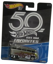 hot wheels 50th favorites drag bus
