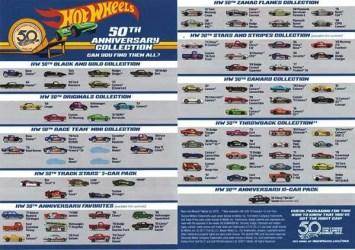 hot wheels 50th flyer