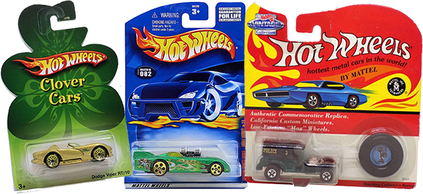 st patrick's day Hot Wheels