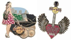 mom hard rock pins