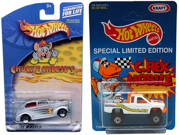 hot wheels promo cars