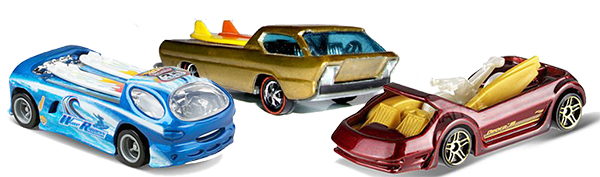 Hot Wheels Deora Original, II, and III
