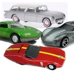 7 Generations of Collectible Corvette Concepts (While We Wait for C8 Diecast)