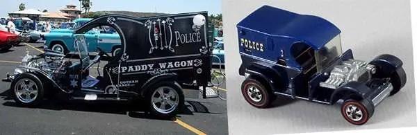 hot wheels paddy wagon