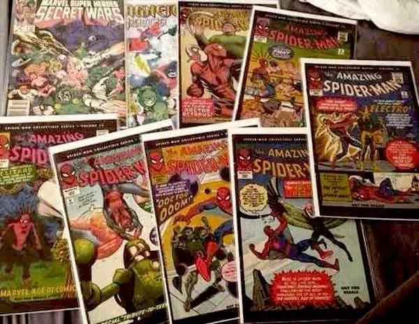 spider man comic books
