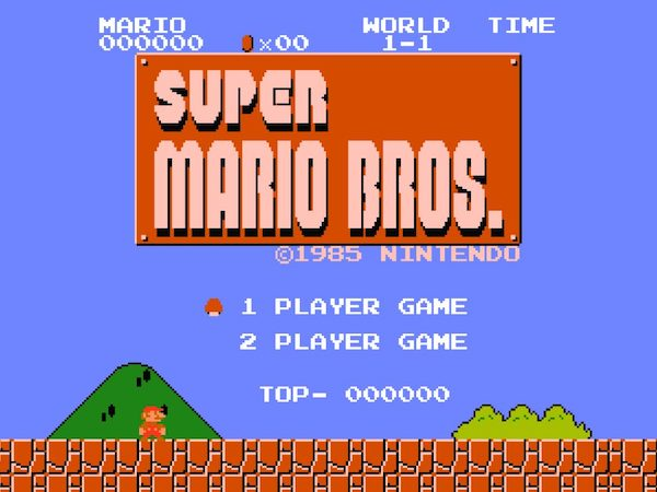 super mario bros screen 2